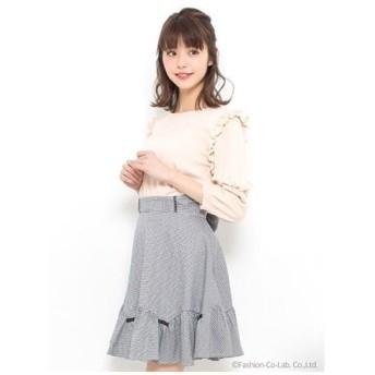 Secret Honey(シークレットハニー)ギンガムミニリボン付スカート