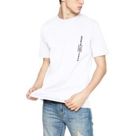 (ディーゼル) DIESEL メンズ Tシャツ ポケット刺繍デザインTシャツ 00SH130BASU L ホワイト 100