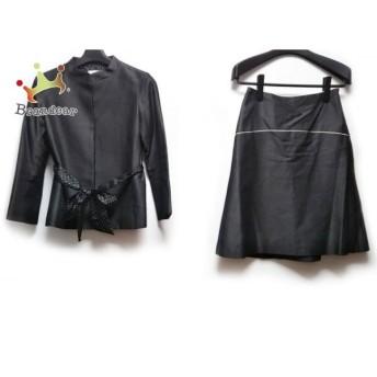 アナトリエ anatelier スカートスーツ サイズ36 S レディース 美品 グレー 新着 20190723