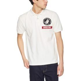 [アヴィレックス] ポロシャツ N.A.B. CORONADO POLO 6193346 メンズ 02WHITE 日本 L (日本サイズL相当)