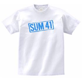 SUM41 Tシャツ 音楽 バンド ロック 白 (L)