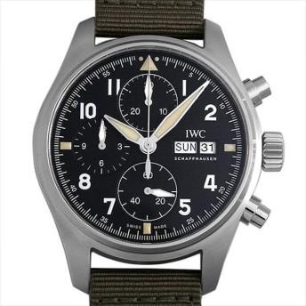 48回払いまで無金利 IWC パイロットウォッチ クロノグラフ スピットファイア IW387901 新品 メンズ 腕時計