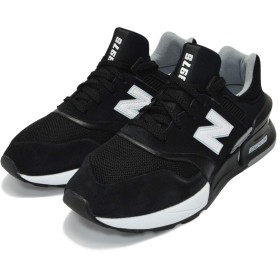 [ニューバランス] スニーカー シューズ 【MS997】 運動靴 (28cm, BLACK/WHITE(048))