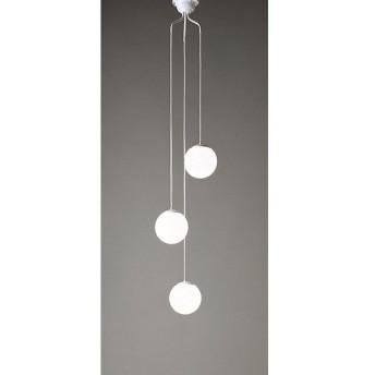 オーデリック 照明器具 吹き抜け用LEDシャンデリア 昼白色 非調光 白熱灯50W×3灯相当 OC257107ND