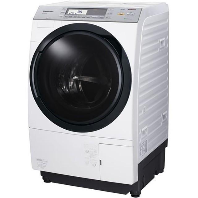 パナソニック ドラム式 洗濯機 洗濯10kg 10キロ NA-VX7700L-W ナノイー 乾燥6kg 左開き