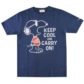 スヌーピー プリント 半袖 Tシャツ メンズ SPSN-92252 NB M