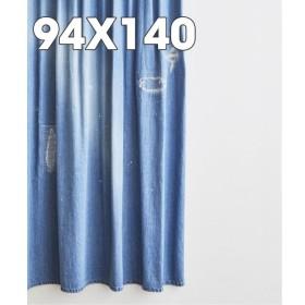 【ジャーナル スタンダード ファニチャー/journal standard Furniture】 ≪予約≫DAMAGE DENIM CURTAIN 94140
