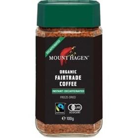 マウントハーゲン オーガニック フェアトレード カフェインレスインスタントコーヒー (100g)
