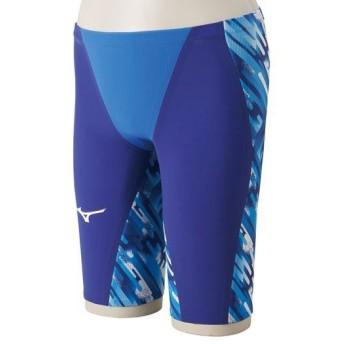 MIZUNO SHOP [ミズノ公式オンラインショップ] 競泳用GX・SONICIII MR ハーフスパッツ[ジュニア] 27 ブルー N2MB6002_j