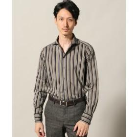 【エディフィス/EDIFICE】 Matteucci マテウッチ / Belesto オルタネートストライプシャツ