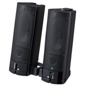 オーム USB電源ステレオスピーカー(ブラック) AudioComm OHM ASP-U150Z 【返品種別A】