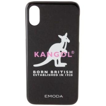 【エモダ/EMODA】 【EMODA×KANGOL】iPhone case fot X