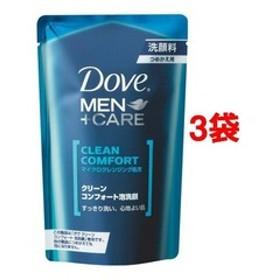 ダヴ メンプラスケア クリーンコンフォート泡洗顔 つめかえ用 (110mL*3袋セット)