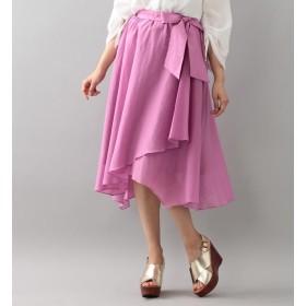 【ラブレス/LOVELESS】 【LOVELESS】コットンシルクアシンメトリースカート