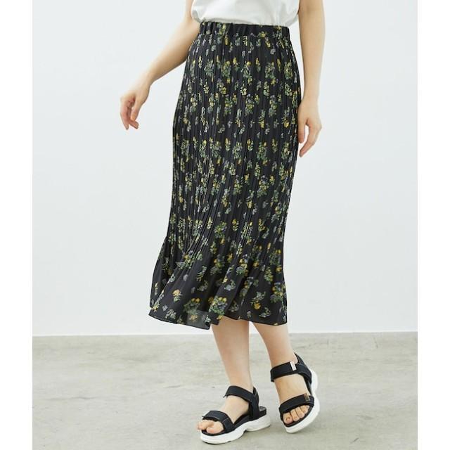【ロペピクニック/ROPE' PICNIC】 フラワープリントプリーツスカート