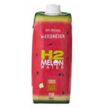 H2COCO ウォーターメロン ウォーター(スイカジュース) 500ml 12本セット タイ産 タイドリンク アジアのドリンク 西瓜味 スイ