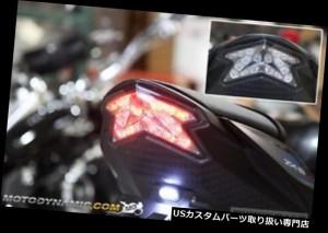 2013-2018 Kawasaki Ninja ZX-6R ZX6R Z800 SEQUENTIAL Signal LED Tail Light SMOKE