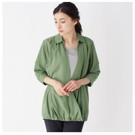 【シューラルー/SHOO・LA・RUE】 カシュクールインナードッキングシャツ
