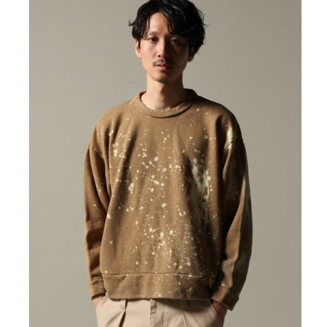 【ジャーナルスタンダード/JOURNAL STANDARD】 BLEACH DYE SWEAT