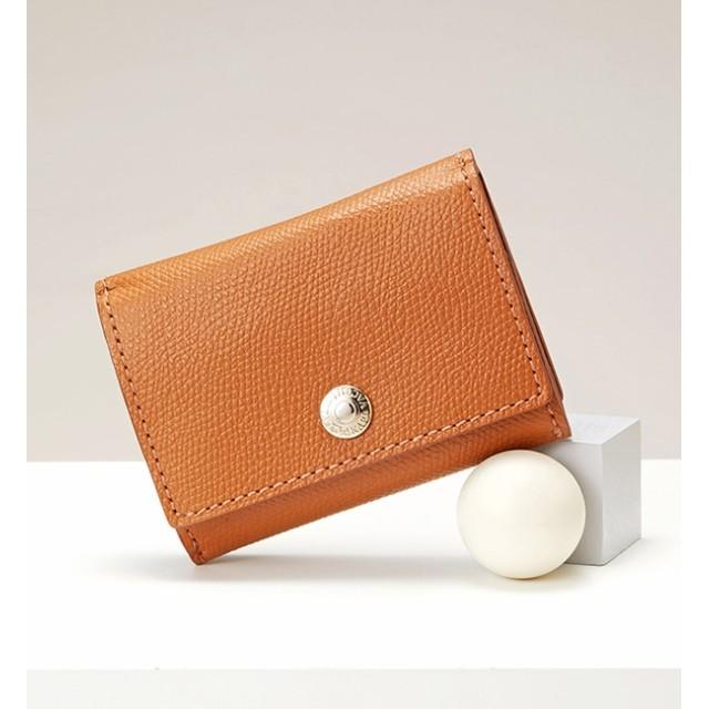 【トプカピ/TOPKAPI】 COLORATO[コロラート]角シボ型押し・三つ折りミニ財布