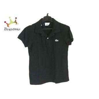 ラコステ Lacoste 半袖ポロシャツ サイズ38 M レディース 黒 新着 20190724