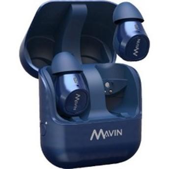 完全ワイヤレスイヤホン Mavin Air-X BLUE