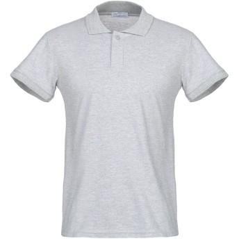 《期間限定セール開催中!》SOUL CAGE メンズ ポロシャツ グレー M コットン 100%