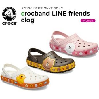 クロックス(crocs) クロックバンド LINE フレンズ クロッグ(crocband LINE friends clog) レディース/女性用/サンダル/シューズ[C/B]