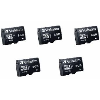 マイクロSDカード MHCN8GJVZ2 5個セット