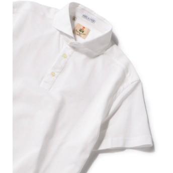 【シップス/SHIPS】 GUY ROVER: カノコ カッタウェイ ソリッド ポロシャツ
