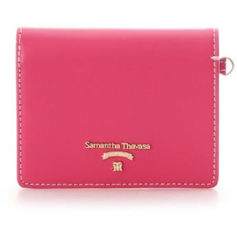 サマンサタバサプチチョイス 【阪神タイガースコラボ】折財布 フューシャピンク