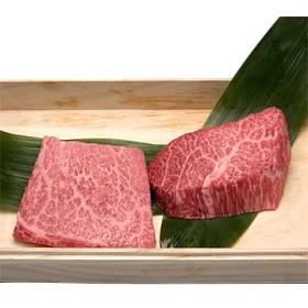 やまとダイニング 松坂牛 松阪牛肉 ギフト 桐箱入り モモステーキ 100g×2枚セット A5