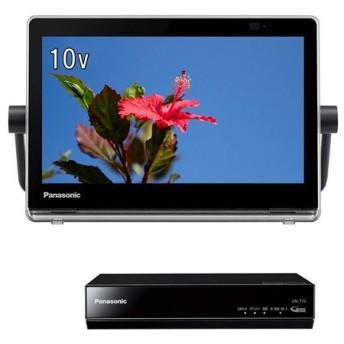 【新品訳あり(箱きず・やぶれ)】 Panasonic モニター付 HDDレコーダー UN-10T7-K