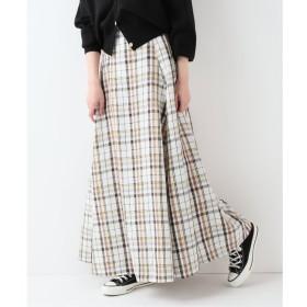【イエナ/IENA】 nicholson & nicholson チェックロングスカート