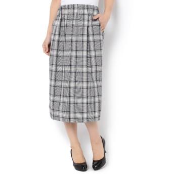 【プルミエ アロンディスモン/1er Arrondissement】 チェックタイトスカート