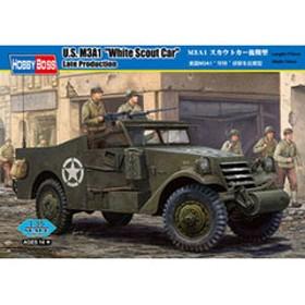 ホビーボス 【再生産】1/35 M3A1 スカウトカー後期型【82452】 プラモデル HB82452 M3A1 スカウトカーコウキ 【返品種別B】