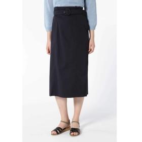 【ヒューマンウーマン/HUMAN WOMAN】 ◆綿キュプラチノIラインスカート