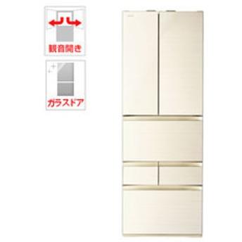 【設置無料 Aエリア】東芝 508L 6ドア冷蔵庫(ラピスアイボリー) TOSHIBA GR-R510FZ-ZC 【返品種別A】
