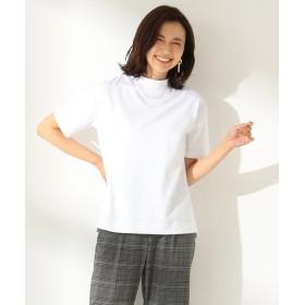 【オンワード】 any FAM(エニィファム) 【毛玉になりにくい】プレミアムベーシック Tシャツ ホワイト 2 レディース 【送料無料】