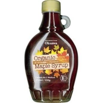 dポイントが貯まる・使える通販  オーサワの有機メープルシロップ(瓶) (330g) 【dショッピング】 食品/調味料 その他 おすすめ価格