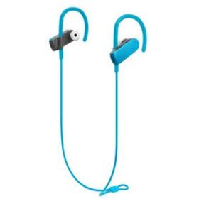 オーディオテクニカ Bluetooth対応 スポーツワイヤレスイヤホン(ターコイズブルー) audio-technica ATH-SPORT50BT BL 【返品種別A】