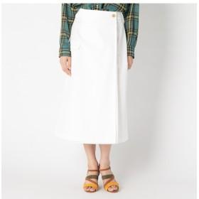 【エリオポール/HELIOPOLE】 HELIOPOLE 高密度コンパクトギャバ ラップカーゴスカート