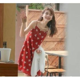 2019夏新作 キャミソールマワンピース ノースリーブレディース ワンピース ショート・ミニ丈 おしゃれ y028
