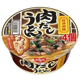 日清御膳 肉だしうどん (74g*4個セット)