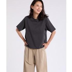 【スーペリアクローゼット/SUPERIOR CLOSET】 ラウンドネックコットンTシャツ