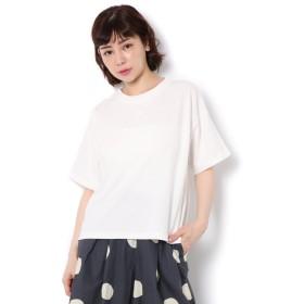 【サマンサモスモス/Samansa Mos2】 18/-OE綿 半袖Tシャツ