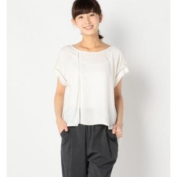 【アルカリ/alcali】 alcali/アシンメトリーTシャツ