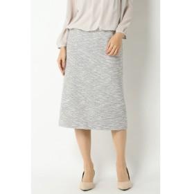 【イッカ/ikka】 Sdv ラメツィードナロータイトスカート