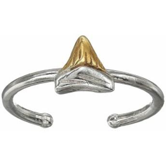 アレックス アンド アニ Alex and Ani レディース 指輪・リング ジュエリー・アクセサリー Shark Tooth, Two-Tone, Adjustable Ring Ster