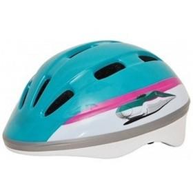 カナック企画 子供用ヘルメット E5系はやぶさヘルメット(はやぶさデザイン/50 56cm) H-001